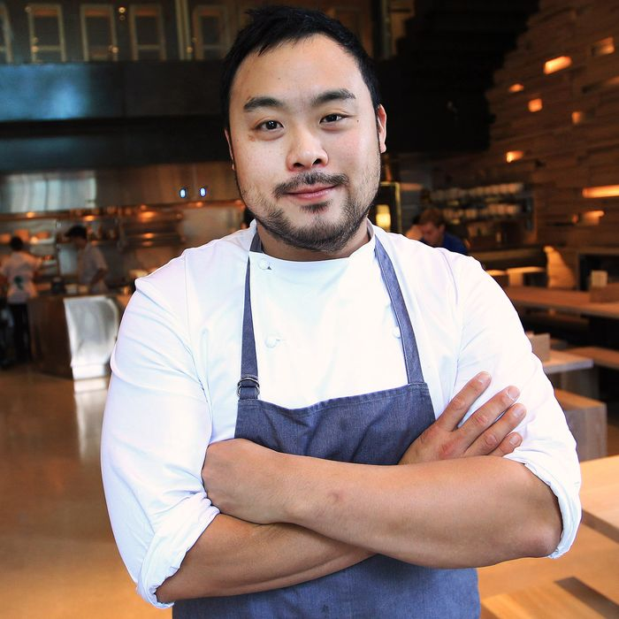 David Chang is ready to cook for you now.