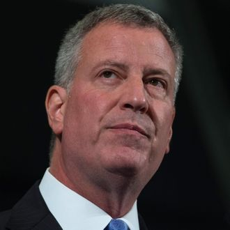 Mayor Bill de Blasio Announces Update On IDNYC