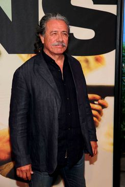 "Edward James Olmos attends ""2 Guns"" New York Premiere at SVA Theater on July 29, 2013 in New York City."