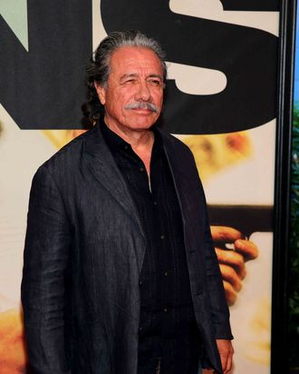 Edward James Olmos attends