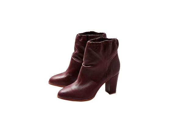 Charlotte Stone Agness Leather Ankle Boot