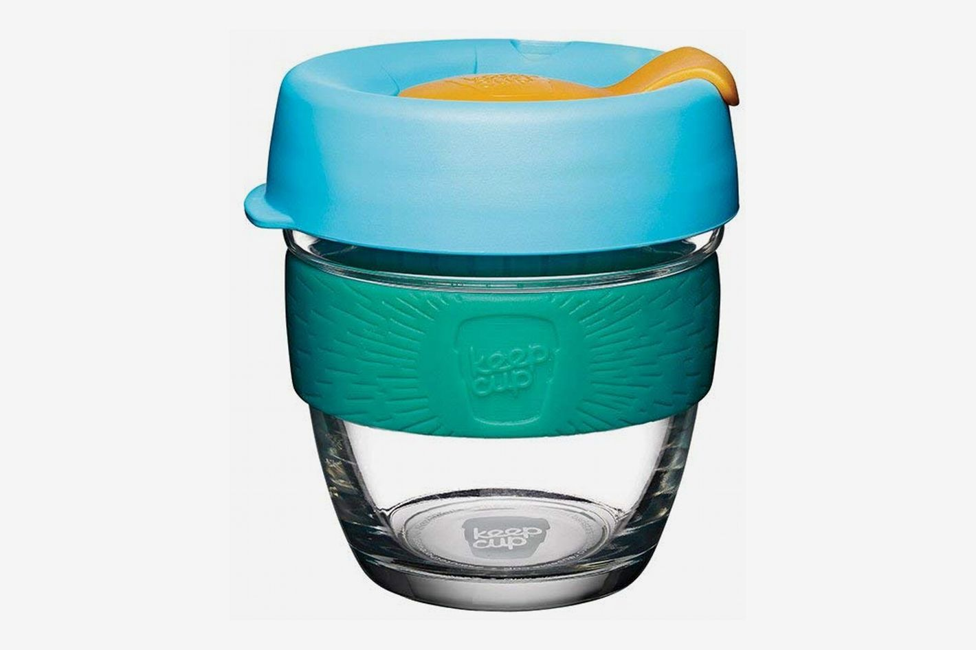 KeepCup Brew Glass Reusable Coffee Cup, Small