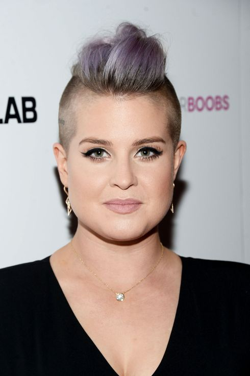 Kelly osbourne on lavender hair and 10 minute workouts urmus Choice Image