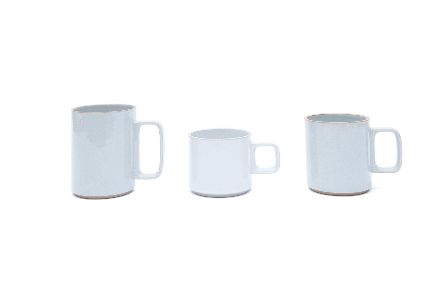 Hasami Porcelain Mug in Gloss Gray
