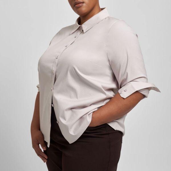 Universal Standard Canna Hi-Low Shirt