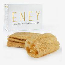 ENEY Eco-Friendly Natural Kitchen Sponge (4 Pack)