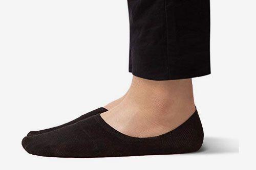 Sheec SoleHugger No Show Socks for Men (4-pack)
