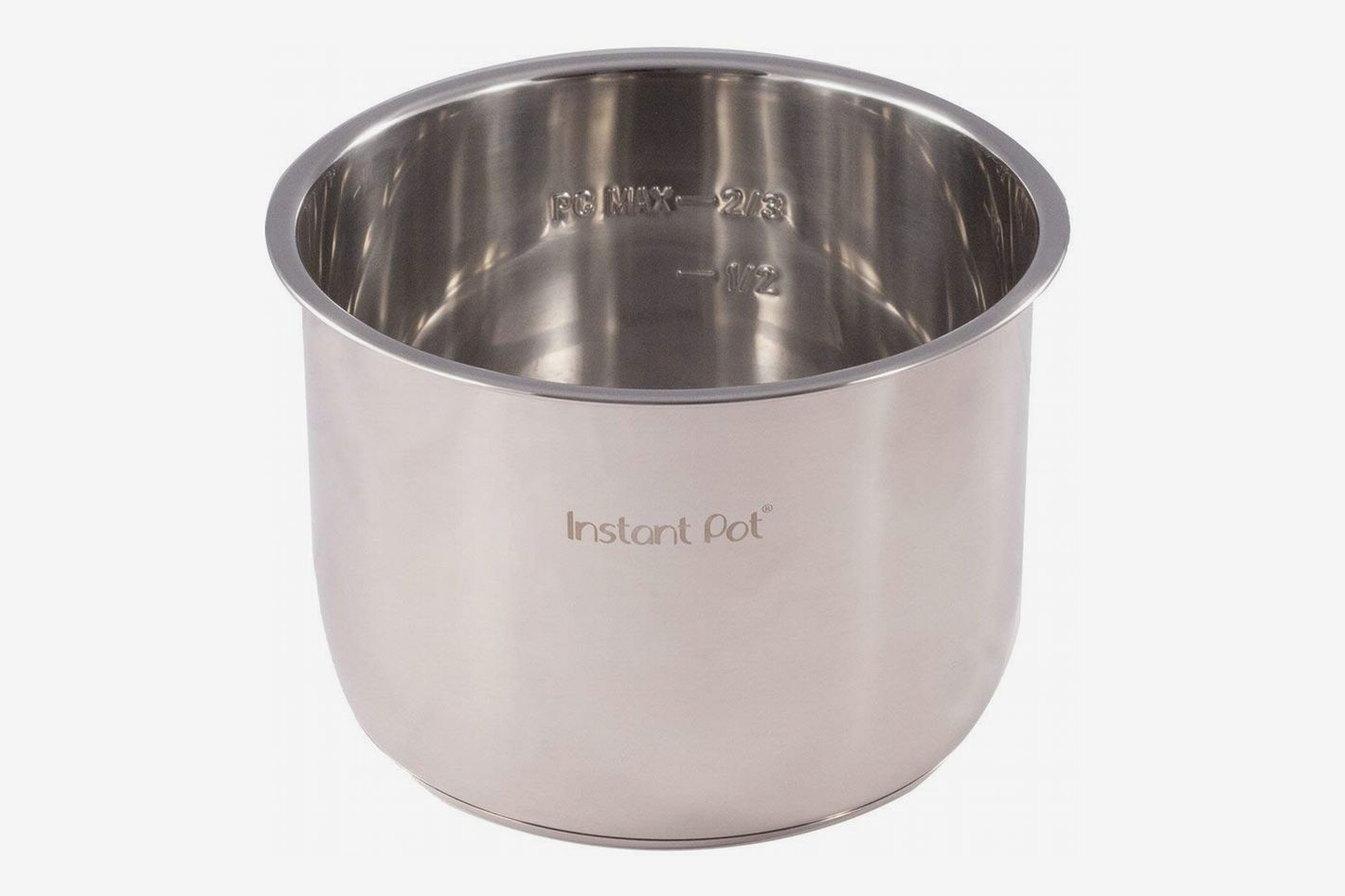Genuine Instant Pot Stainless Steel Inner Cooking Pot, 6-Quart