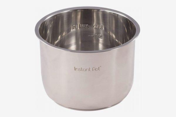 Genuine Instant Pot Stainless Steel Inner Cooking Pot, 6-Quart