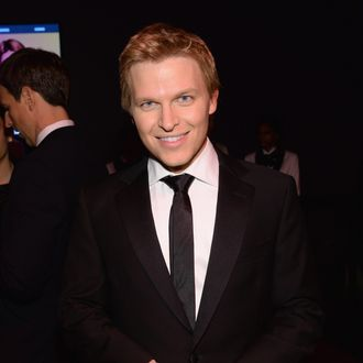 NEW YORK, NY - APRIL 29: Journalist Ronan Farrow attends the TIME 100 Gala, TIME's 100 most influential people in the world, at Jazz at Lincoln Center on April 29, 2014 in New York City. (Photo by Larry Busacca/Getty Images for TIME)