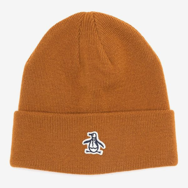 Original Penguin Ribbed Cuff Beanie
