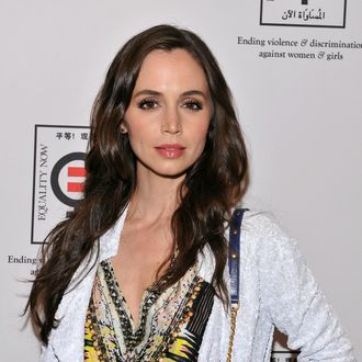 Actress Eliza Dushku attends the Equality Now 20th Anniversary Fundraiser Event at Asia Society on April 19, 2012 in New York City.