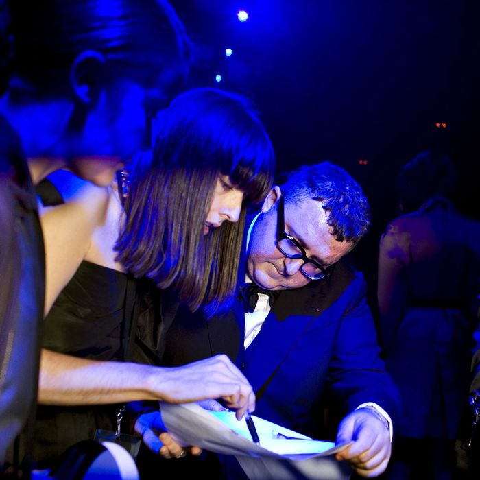 Alber Elbaz and his team.