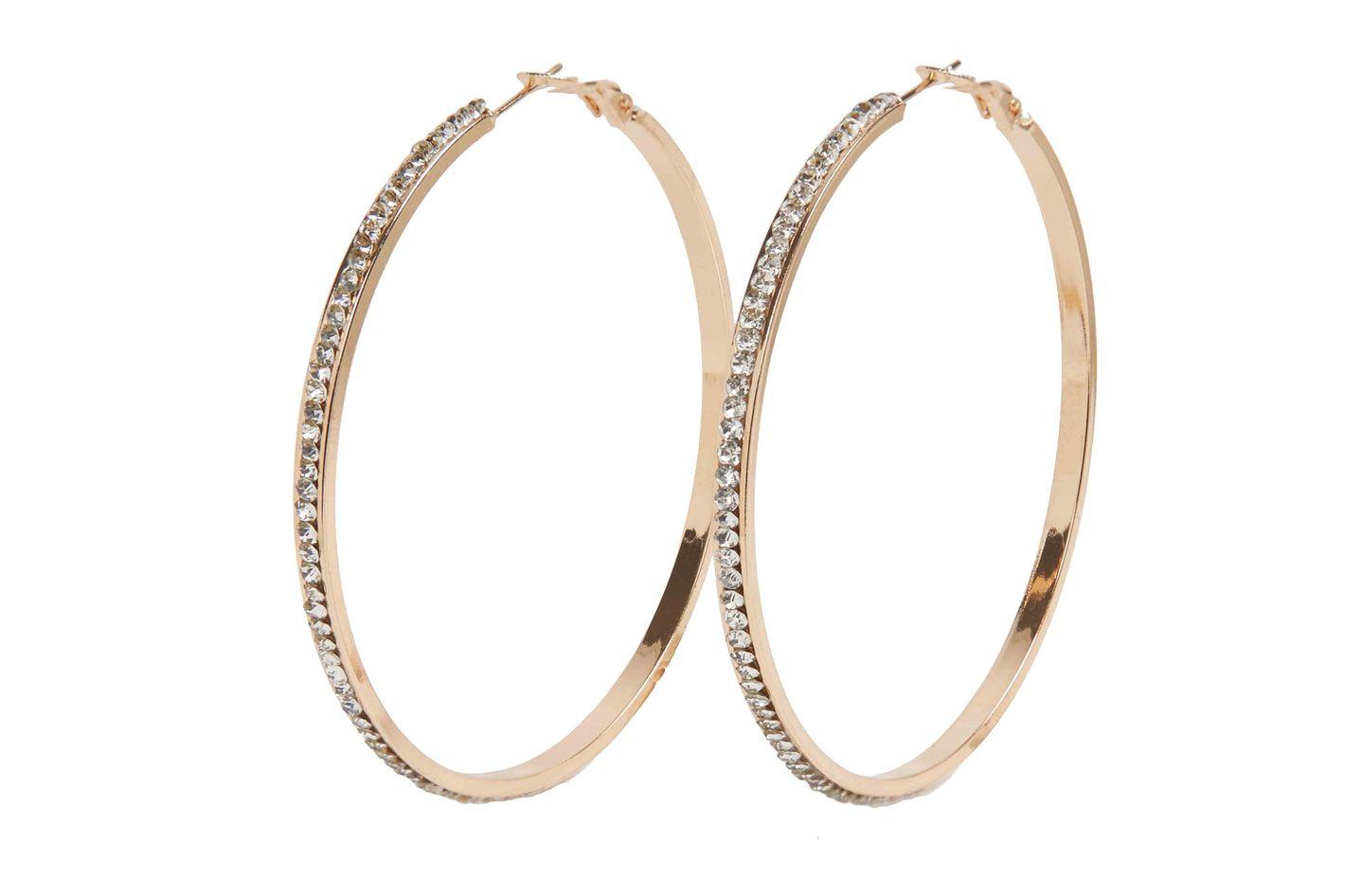 Aldo Reawiel hoop earrings