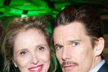"""Director and screenwriter Richard Linklater, Julie Delpy and Ethan Hawke attend the Tribeca Film Festival 2013 After Party """"Before Midnight"""" sponsored by Heineken on April 22, 2013 in New York City."""
