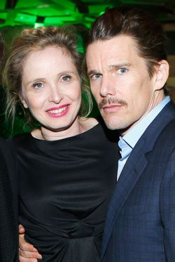 "NEW YORK, NY - APRIL 22:  Director and screenwriter Richard Linklater, Julie Delpy and Ethan Hawke attend the Tribeca Film Festival 2013 After Party ""Before Midnight"" sponsored by Heineken on April 22, 2013 in New York City.  (Photo by Jemal Countess/Getty Images for 2013 Tribeca Film Festival)"