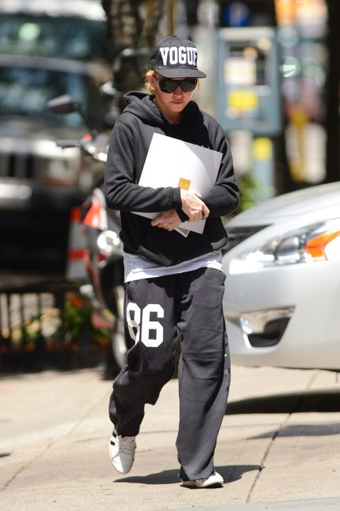 Madonna enters the Kabbalah Center on June 22, 2013 in New York City.