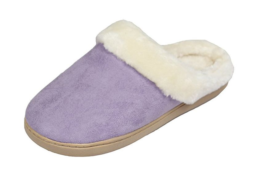 Luxehome Women's Cozy Fleece Slippers
