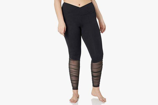 Amazon Brand - Core 10 Women's Icon Series 'Ballerina' Yoga Mesh Legging - 28
