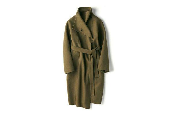 Double Face Wrap Coat