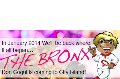 City Island bound