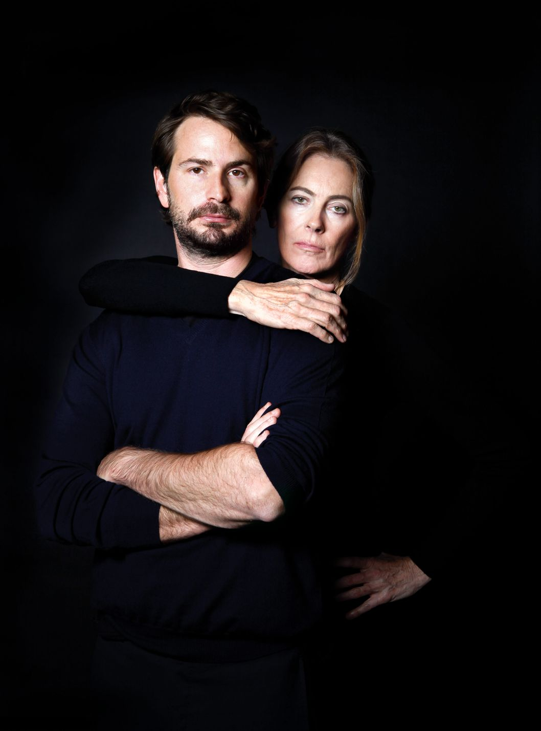 Portrait of Kathryn Bigelow and Mark Boal