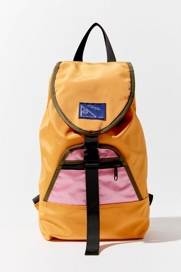 Peters Mountain Works UO Exclusive Pearl Colorblock Backpack