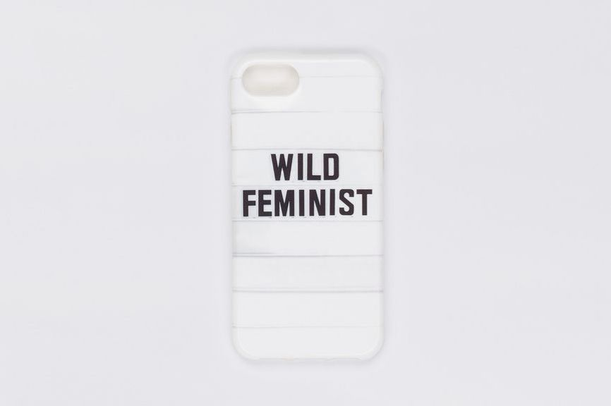 Wild Feminist iPhone Case