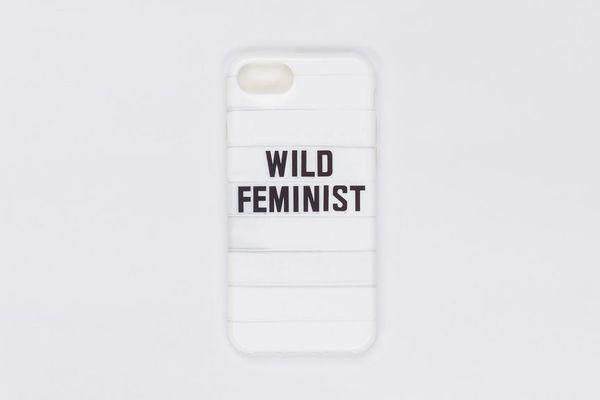 Wild Feminist iPhone Case