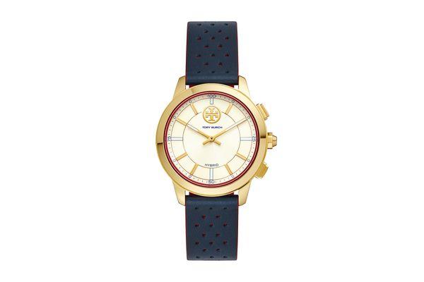 ToryTrack Hybrid Smartwatch, Leather/Gold Tone