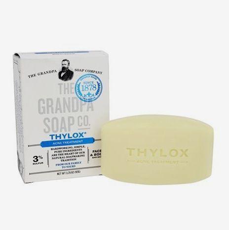 The Grandpa Soap Co. Grandpa's Thylox Acne Treatment Soap