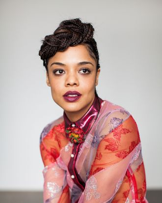 Tessa Thompson in Gucci Dress, $12,500, available at select Gucci stores nationwide and gucci.com.
