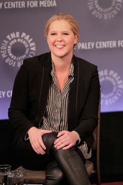 "NEW YORK, NY - NOVEMBER 08:  Amy Schumer attends ""Clown Panties And Other Unpleasant Truths: An Evening With Inside Amy Schumer"" Panel Discussion at Paley Center For Media on November 8, 2014 in New York City.  (Photo by Randy Brooke/WireImage)"