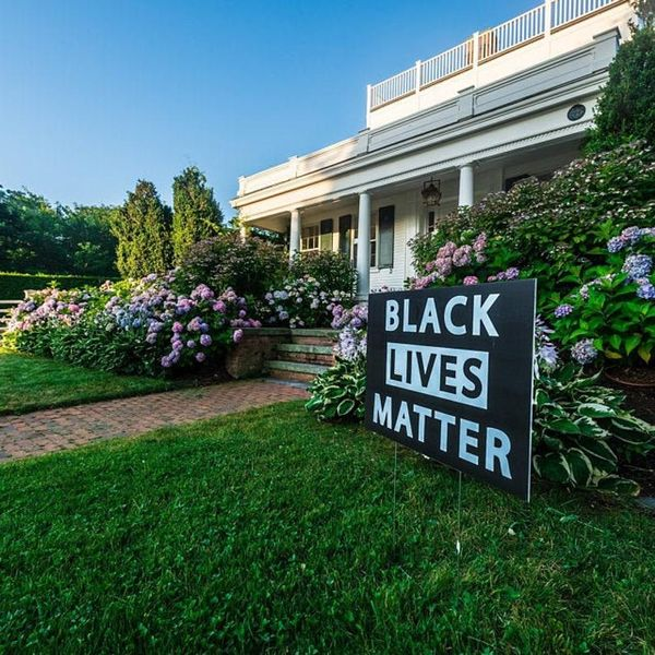 Signs for Me Black Lives Matter Yard Sign — 24 x 18 Inches