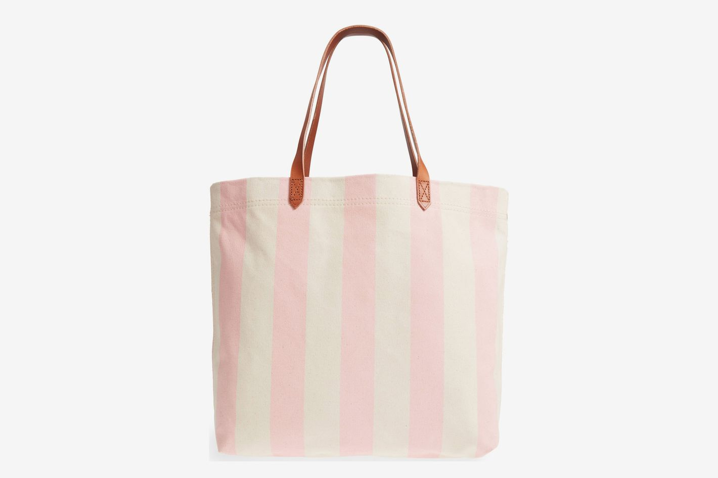 Madewell Stripe Canvas Tote