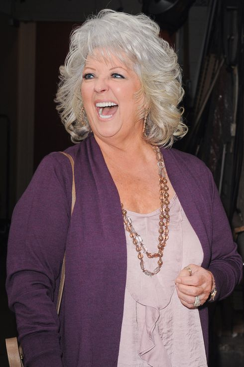 "NEW YORK, NY - DECEMBER 05:  TV personality Paula Deen enters the ""Live With Kelly"" taping at the ABC Lincoln Center Studios on December 5, 2011 in New York City.  (Photo by Ray Tamarra/Getty Images)"