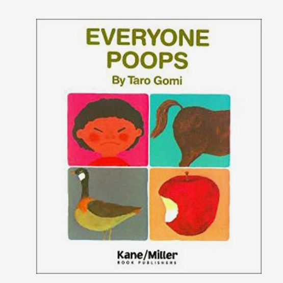"""Everyone Poops"" by Taro Gomi"