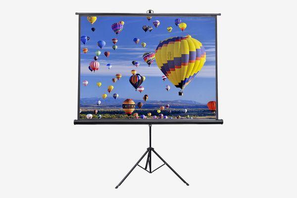 VIVO 84 inch Portable Indoor Outdoor Projector Screen