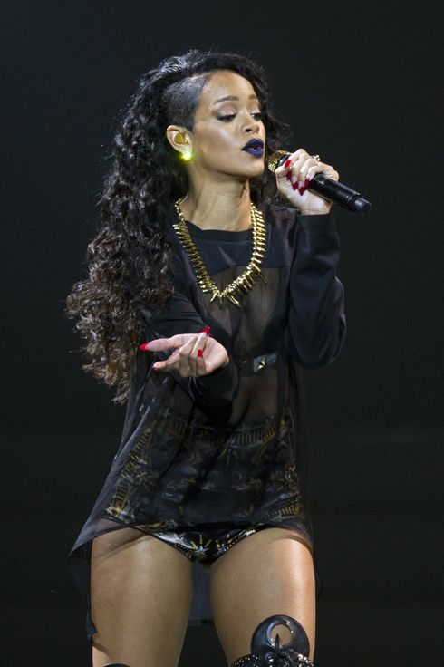 Rihanna in concert at the Vector Arena, Auckland, New Zealand - 06 Oct 2013