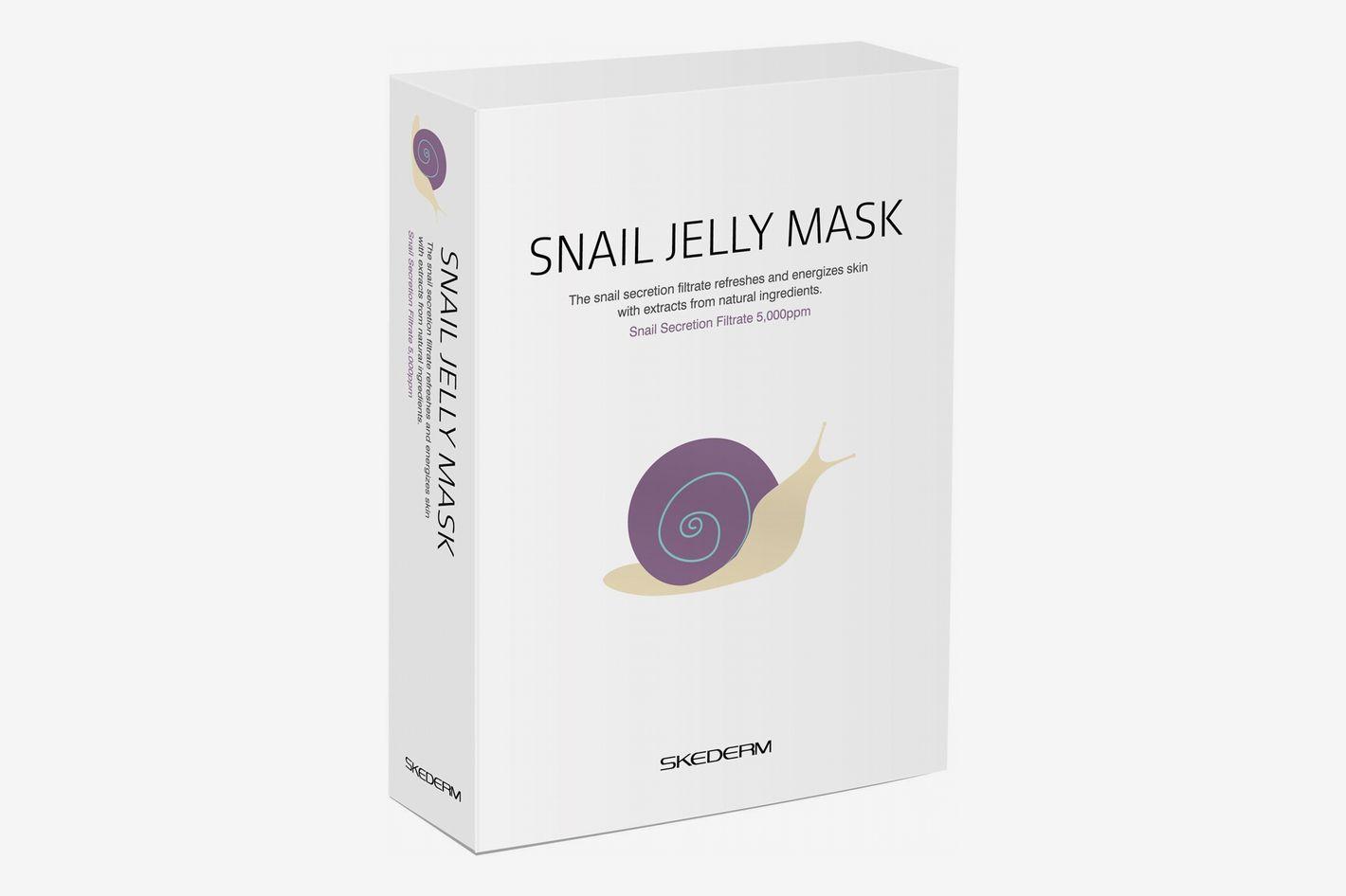 SKEDERM Snail Jelly Face Mask Pack of 10