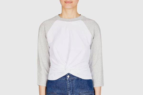 T by Alexander Wang Twist Front Tee