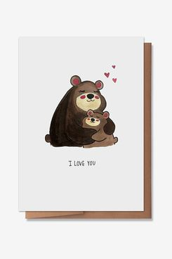Wunderkid Bears Mother's Day Card