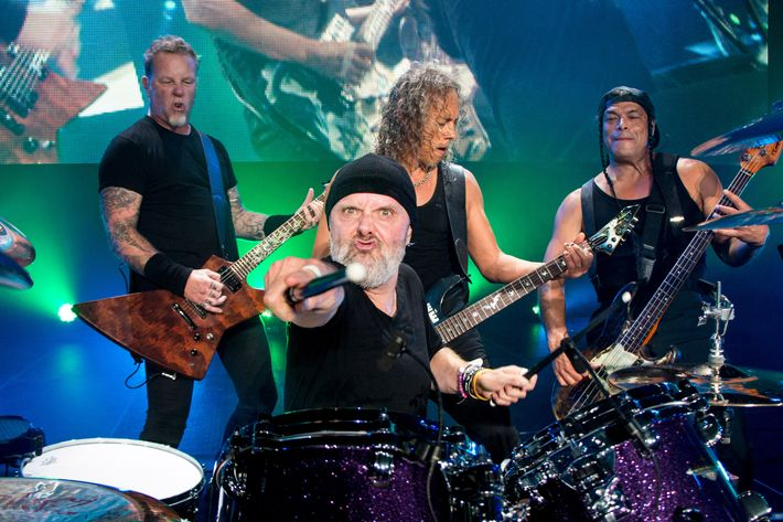 Metallica Performs In Puerto Rico