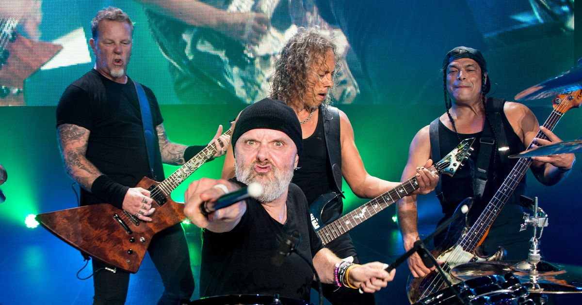 Metallica's Lars Ulrich on the Point of the Band in 2016 ...
