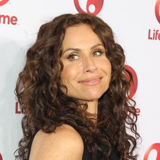 HOLLYWOOD, CA - MAY 1: Minnie Driver attends the Lifetime's