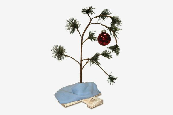 Product Works 24-Inch Charlie Brown Musical Christmas Tree with Linus's Blanket Holiday Décor