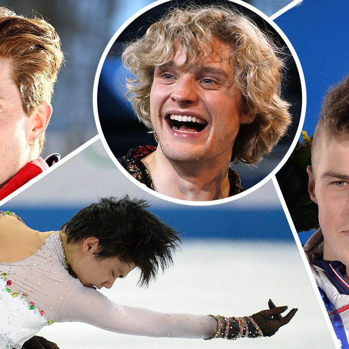 The Best Mens Hair At The Olympics