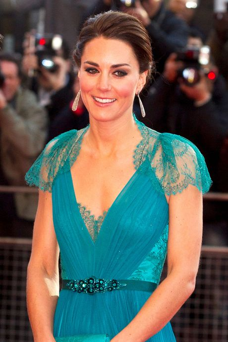 Kate Middleton in the gown in 2012.