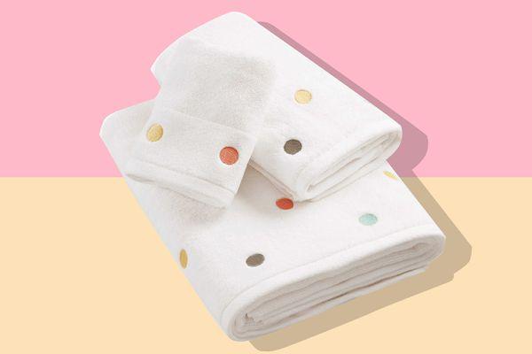Chloe Polka Dotted Bath Towels On Sale The Strategist New York Magazine