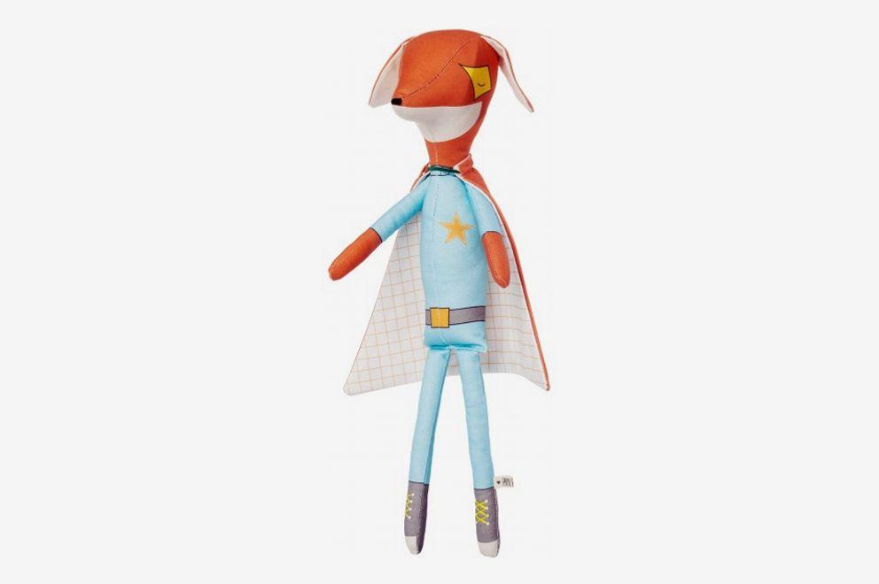 Pani Pieska Superhero Fox Doll